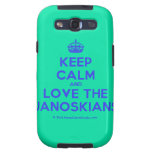 [Crown] keep calm and love the janoskians  Samsung Galaxy S3 Cases