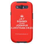 [Crown] jat' bishnoi chadi jodhpur rajasthan-342312  Samsung Galaxy S3 Cases
