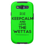 [UK Flag] keepcalm and love the wettas  Samsung Galaxy S3 Cases