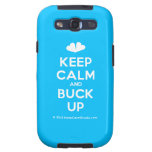 [Two hearts] keep calm and buck up  Samsung Galaxy S3 Cases