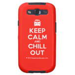 [Campervan] keep calm and chill out  Samsung Galaxy S3 Cases