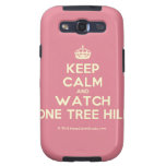 [Crown] keep calm and watch one tree hill  Samsung Galaxy S3 Cases