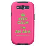 [Crown] keep calm i'm an aka  Samsung Galaxy S3 Cases
