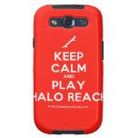 [Skateboard] keep calm and play halo reach  Samsung Galaxy S3 Cases