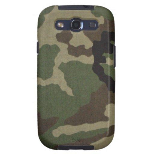 Samsung Galaxy S3 cubierta funda Woodland Camo Galaxy SIII Carcasa