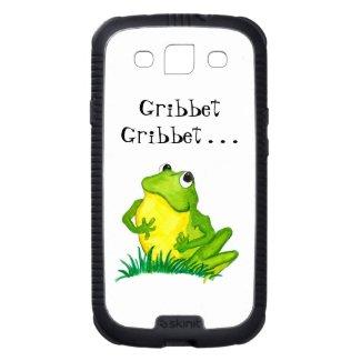 Samsung Galaxy S3 Skinit Cargo Case, Fun Frog Samsung Galaxy SIII Case