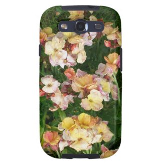 Samsung Galaxy S3 Vibe Case, Pale Pink Wallflowers Galaxy S3 Case