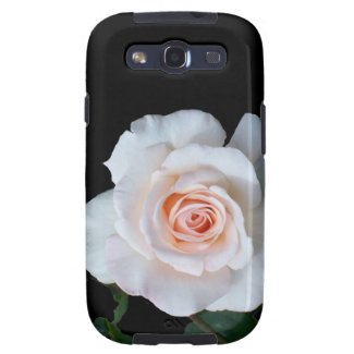 Samsung Galaxy S3 Vibe Case with Pale Pink Roses Samsung Galaxy S3 Covers