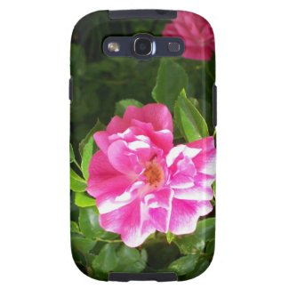 Samsung Galaxy S3 Vibe Case with Pink Roses Samsung Galaxy SIII Covers