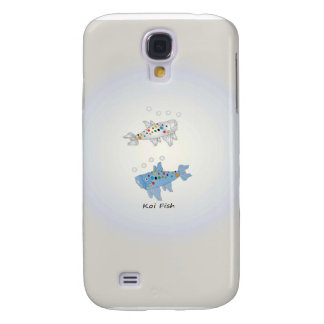 Samsung Galaxy S4, Barely There With Opal Koi Fish Samsung Galaxy S4 Cover