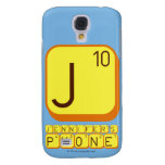 J JENNIFER'S PHONE  Samsung Galaxy S4 Cases