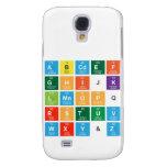 Abcdef ghijk lmnopq rstuv wxy&z  Samsung Galaxy S4 Cases