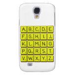 ABCDE FGHIJ KLMNO PQRST VWXYZ  Samsung Galaxy S4 Cases