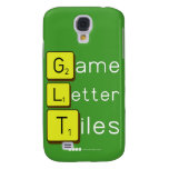 Game Letter Tiles  Samsung Galaxy S4 Cases