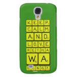 keep calm and love Retha wa Bongz  Samsung Galaxy S4 Cases