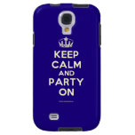 Crown Keep Calm And Love Kelli Staxxx Samsung Galaxy S4 Cases