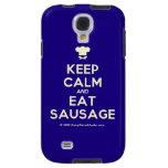 [Chef hat] keep calm and eat sausage  Samsung Galaxy S4 Cases