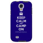 [Campervan] keep calm and camp on  Samsung Galaxy S4 Cases