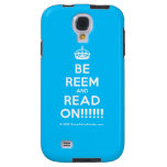 [Crown] be reem and read on!!!!!!  Samsung Galaxy S4 Cases