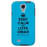 [Crown] keep calm and love omar  Samsung Galaxy S4 Cases
