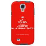 [Crown] jat' bishnoi chadi jodhpur rajasthan-342312  Samsung Galaxy S4 Cases