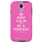[Crown] keep calm and be a princess  Samsung Galaxy S4 Cases