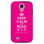 [Crown] keep calm and read p.y.t  Samsung Galaxy S4 Cases
