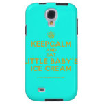[Cupcake] keepcalm and eat little baby's ice cream  Samsung Galaxy S4 Cases