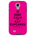 [Cupcake] keep calm and eat cupcakes  Samsung Galaxy S4 Cases