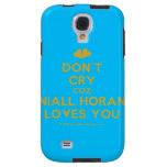 [Two hearts] don't cry coz niall horan loves you  Samsung Galaxy S4 Cases