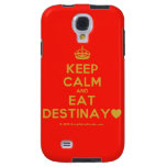 [Crown] keep calm and eat destinay♥  Samsung Galaxy S4 Cases
