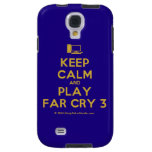 [Computer] keep calm and play far cry 3  Samsung Galaxy S4 Cases