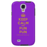 [Crown] keep calm and pun pun  Samsung Galaxy S4 Cases