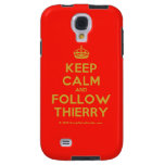 [Crown] keep calm and follow thierry  Samsung Galaxy S4 Cases