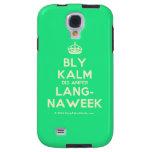 [Crown] bly kalm dis amper lang- naweek  Samsung Galaxy S4 Cases