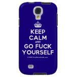[Crown] keep calm and go fuck yourself  Samsung Galaxy S4 Cases