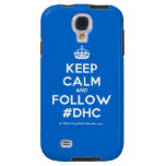 [Crown] keep calm and follow #dhc  Samsung Galaxy S4 Cases
