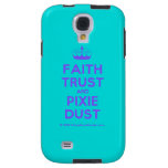 [Knitting crown] faith trust and pixie dust  Samsung Galaxy S4 Cases