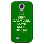 [UK Flag] keep calm and love niall horan  Samsung Galaxy S4 Cases