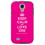 [Crown] keep calm and love dre  Samsung Galaxy S4 Cases
