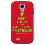 [Chef hat] keep calm and eat some pasteque  Samsung Galaxy S4 Cases