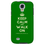 [Crown] keep calm and walk on  Samsung Galaxy S4 Cases