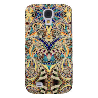 Samsung Galaxy S4 Drawing Floral Zentangle Samsung Galaxy S4 Case