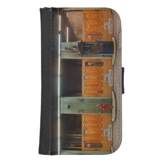 Samsung Galaxy S4 mobile phone purse Elbe tunnel Samsung S4 Wallet Case