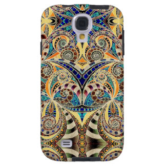 Samsung Galaxy S4 Vibe Drawing Floral Zentangle Galaxy S4 Case