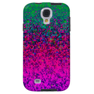 Samsung Galaxy S4 Vibe Glitter Dust Background Galaxy S4 Case