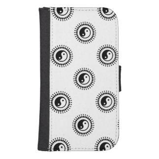 Samsung Galaxy S4 Wallet Case - Yin Yang