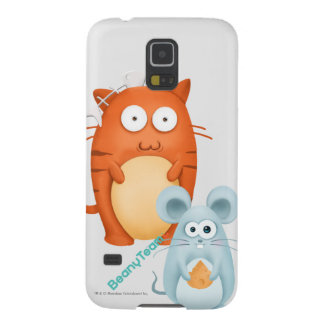 Samsung Galaxy S5 Case: BeanyTeam™ - Cat & Mouse Galaxy S5 Cases