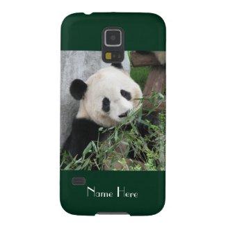 Samsung Galaxy S5 Case Giant Panda Green