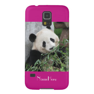 Samsung Galaxy S5 Case Giant Panda Hot Pink